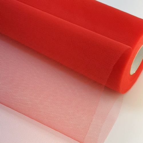 "Tulle Roll |Red 12"" Tulle"